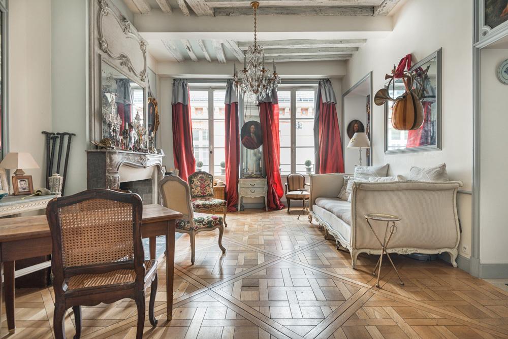 Espace pour tournage à Paris - appartement historique
