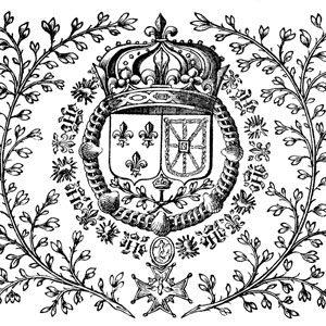 Armes de Louis XIII, roi de France