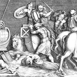 Bataille de Ravenne remportée par les troupes françaises