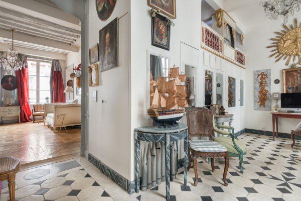 Le salon de musique de La Jussienne - appartement pour vos productions