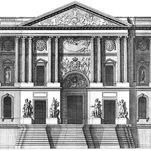 Architectures royales : le palais du Louvre